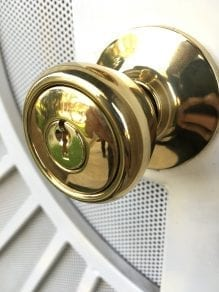 residential phoenix locksmith, replacement door nub in phoenix.
