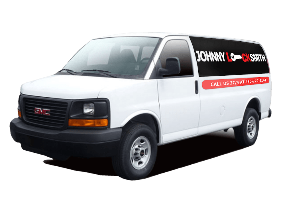 working locksmith van