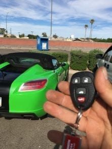 Remote car key replacement
